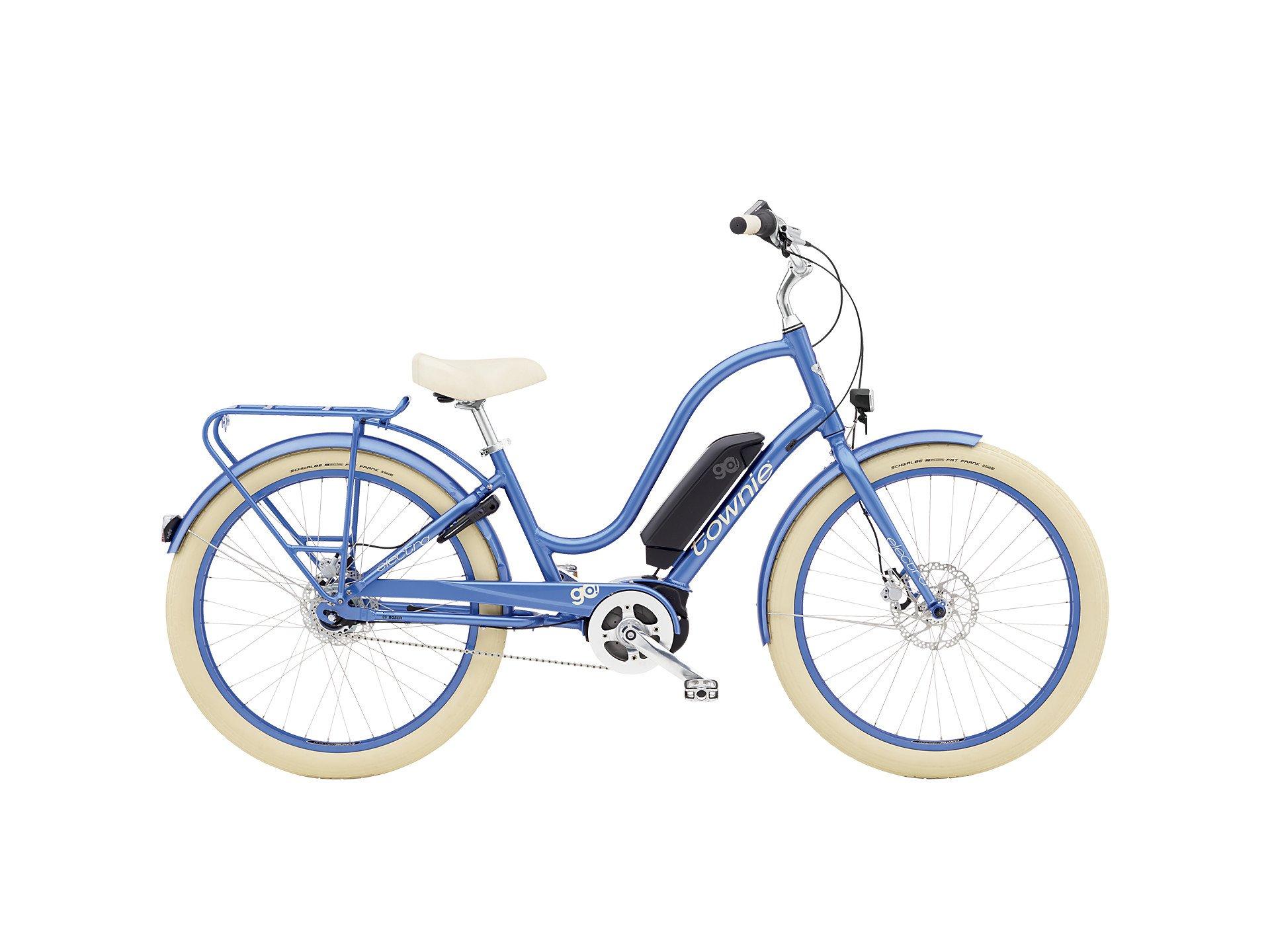 Electra Townie Go! 8i Step-Thru Metallic Blue