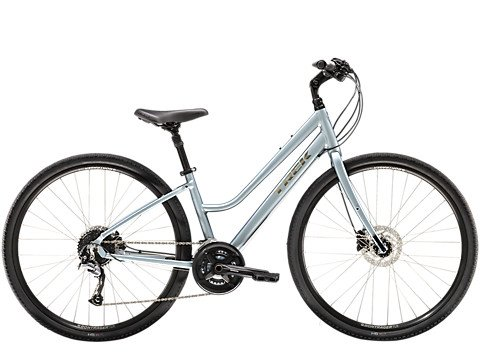 Trek VERVE 3 DISC LOW STEP Small Blue