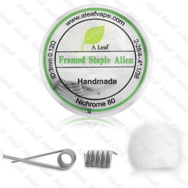 Aleaf Framed Staple Alien Handmade Coils
