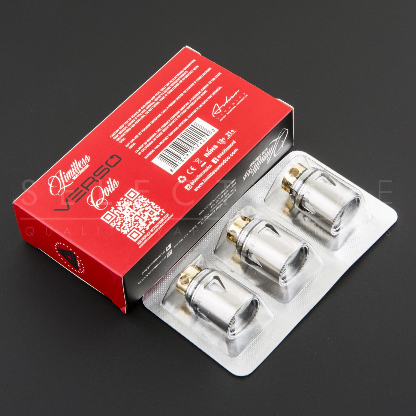 Limitless - Verso Coils 0.15ohm