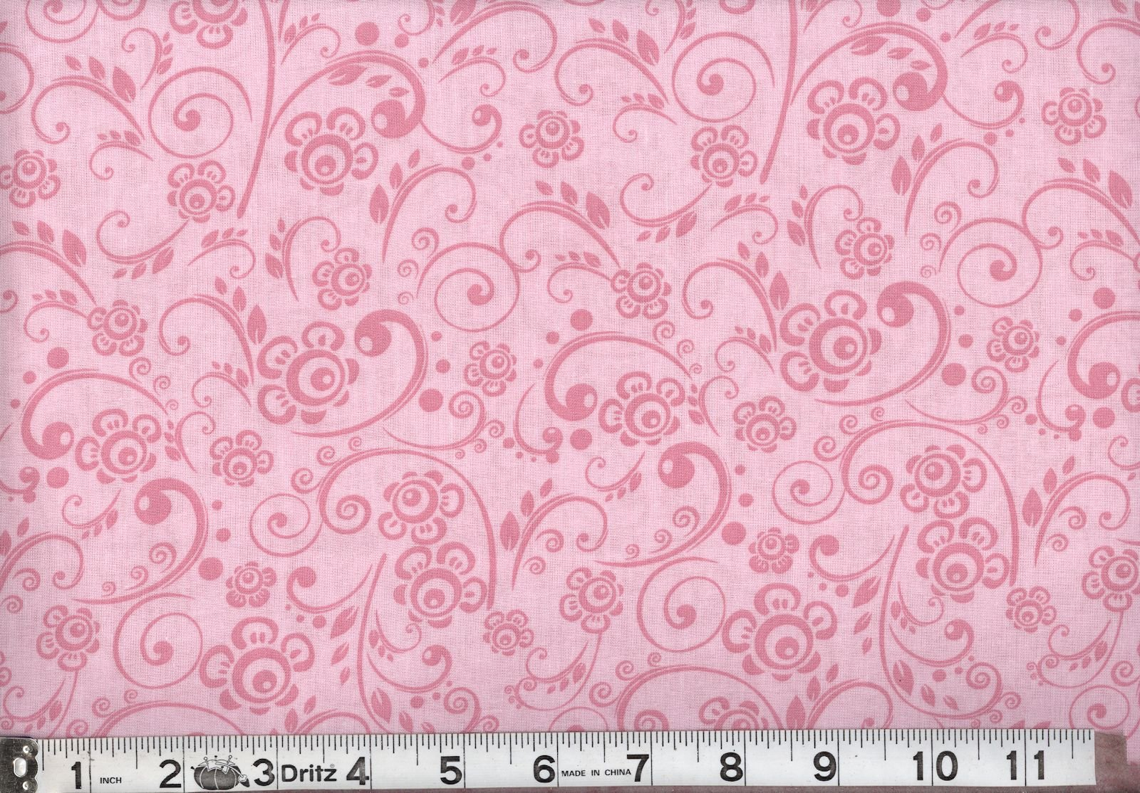 108 Overtone Prints Pink - 3 yard cut
