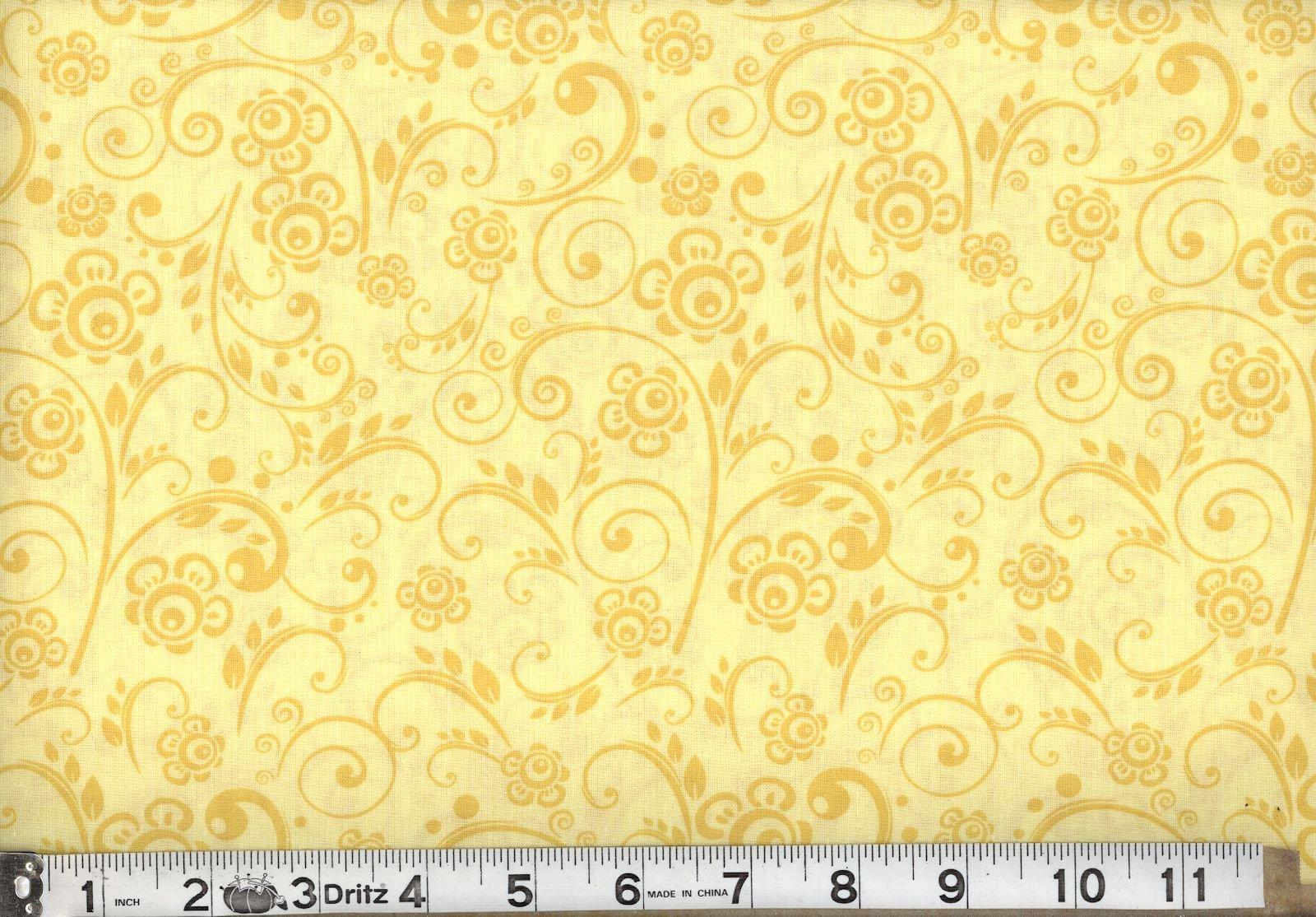 108 Overtone Prints Yellow
