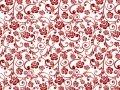 45 Red & White 49116