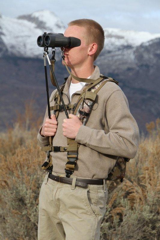 BinoPOD Harness & Pack System (Camo)