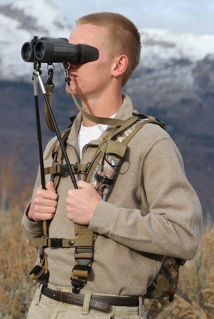 BinoPOD Harness & Pack System  XL (Camo)