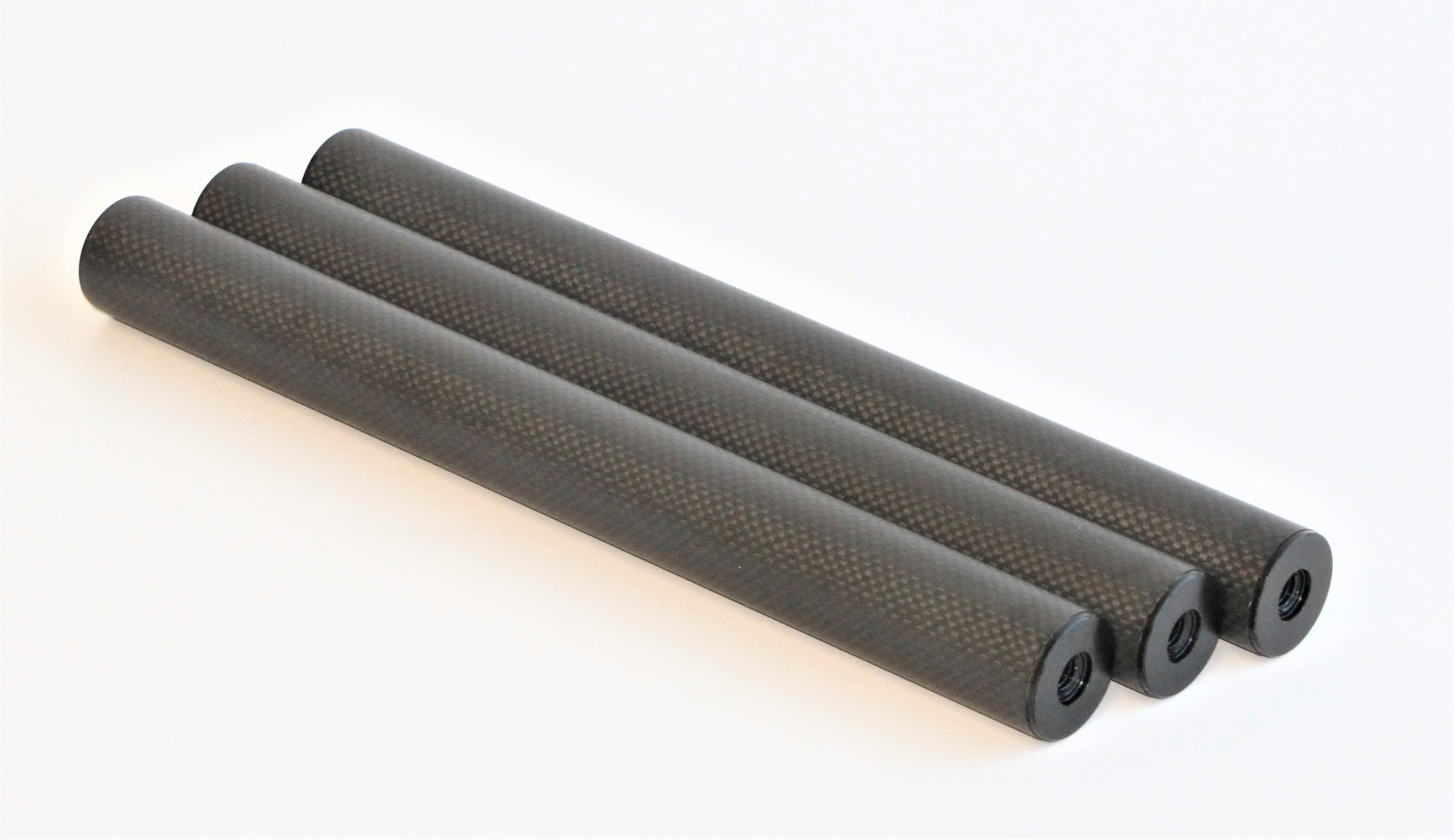 12 Carbon Fiber 32mm Leg Extension, 3 Pack