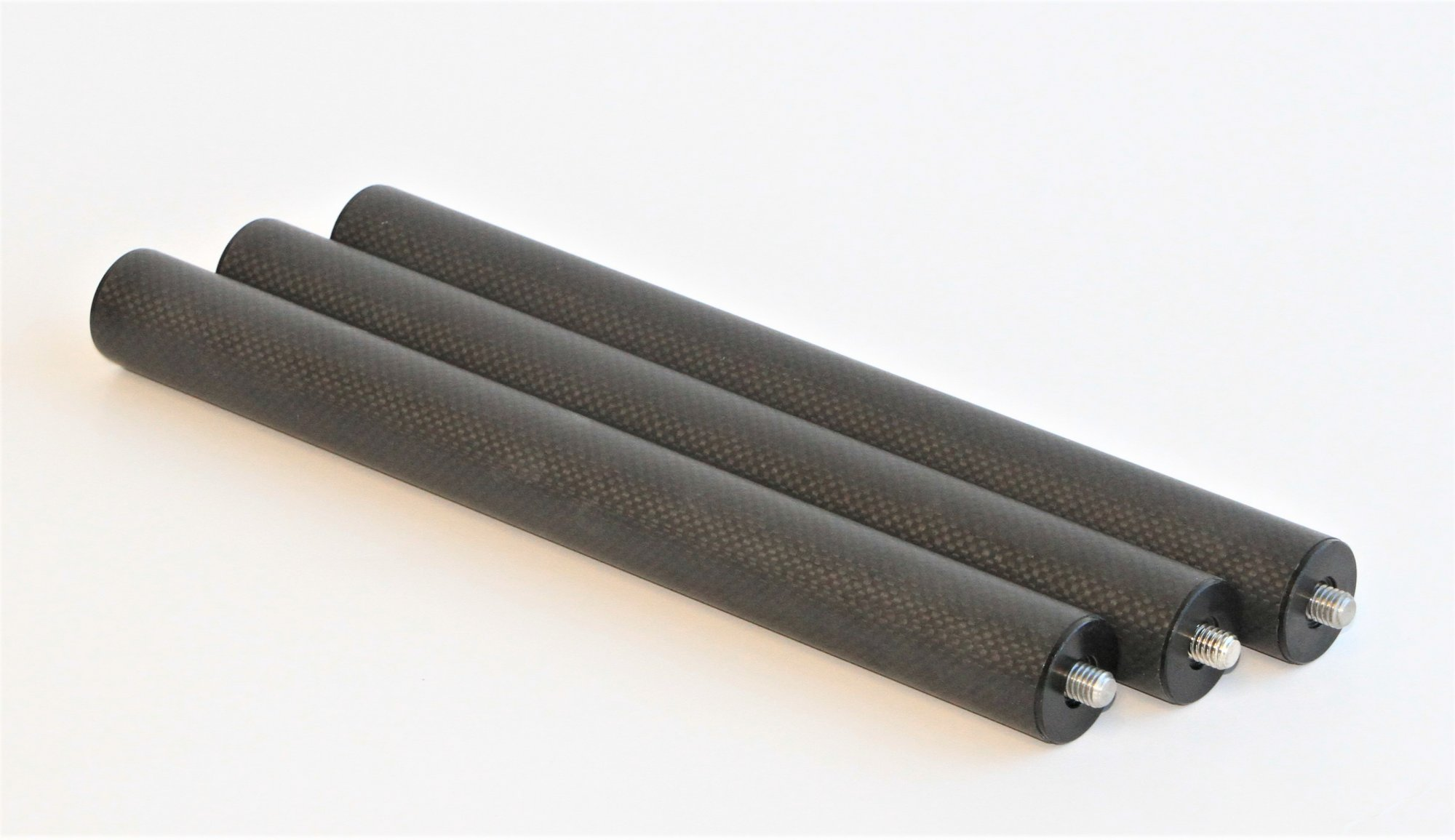 12 Leg Extension, 3 Pack, 32mm Carbon Fiber