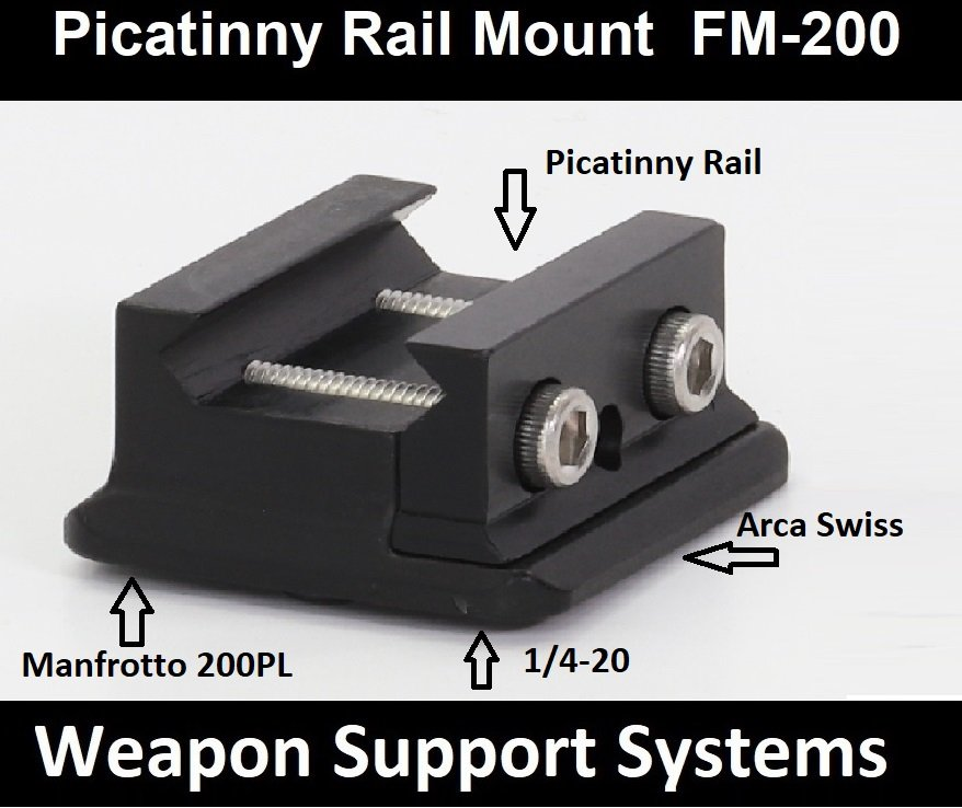 FM-200  Picatinny Rail Mount