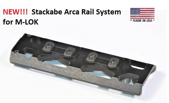 Stackable Arca Rail System