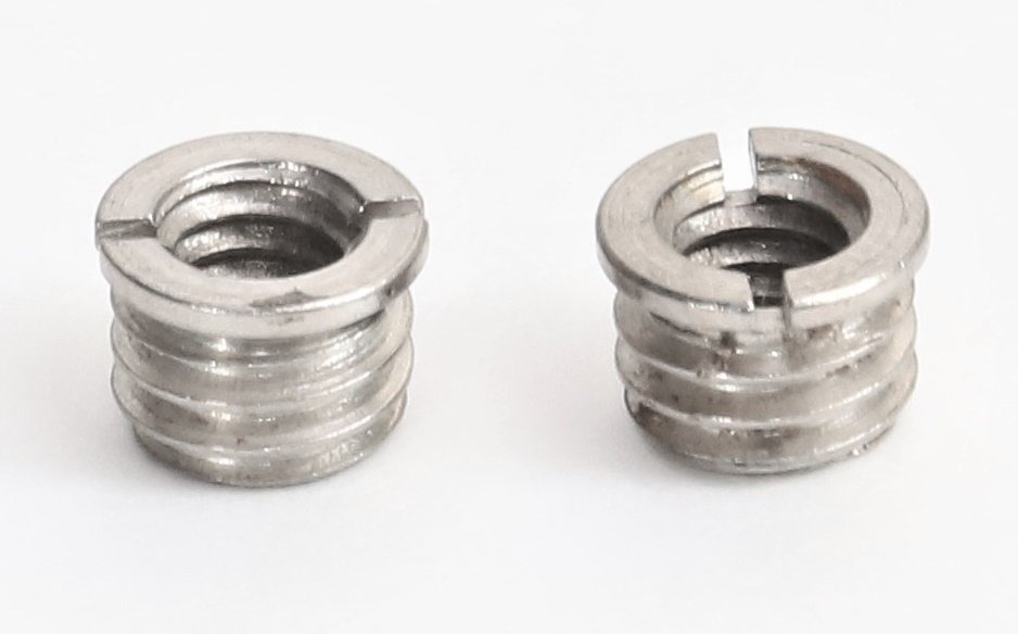 Bushing 3/8-16 x 1/4-20 Reducer, 2 pack.
