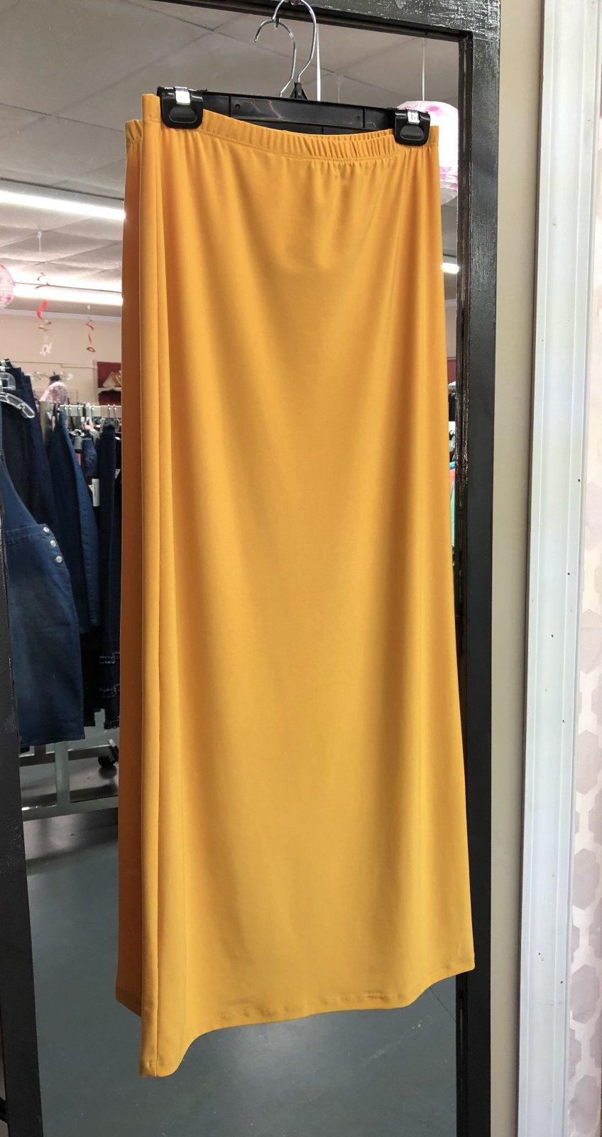Favorite Skirt Mustard 40