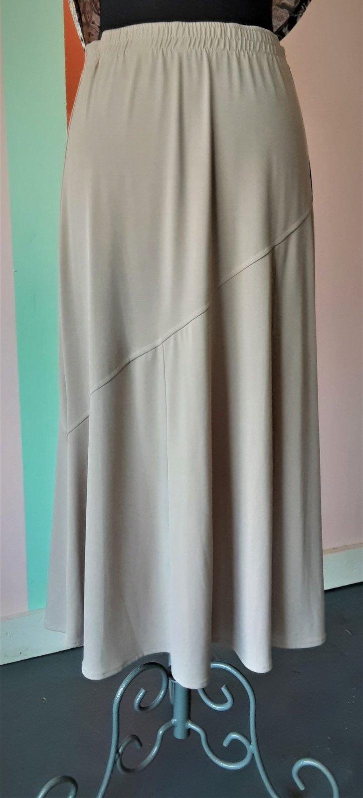 Tan Gored Skirt, SL