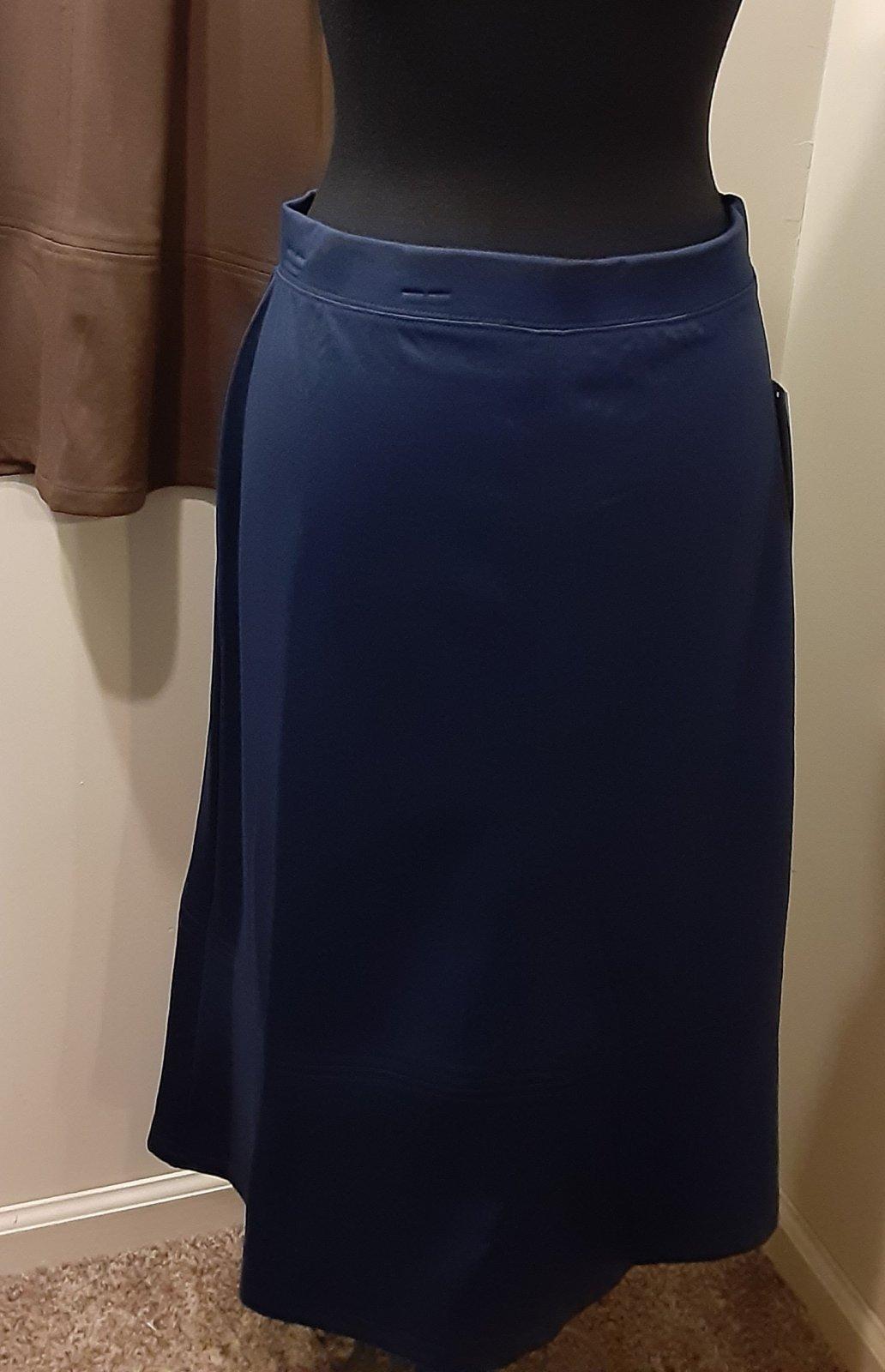 Southern Lady Navy Skirt
