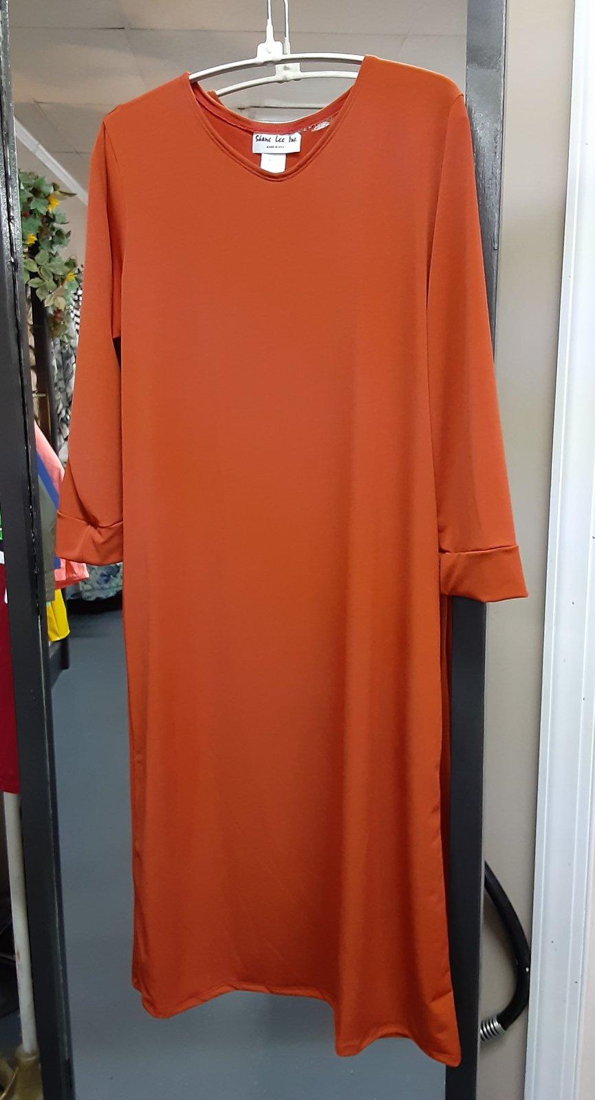 Shane Lee Rust Layering Dress