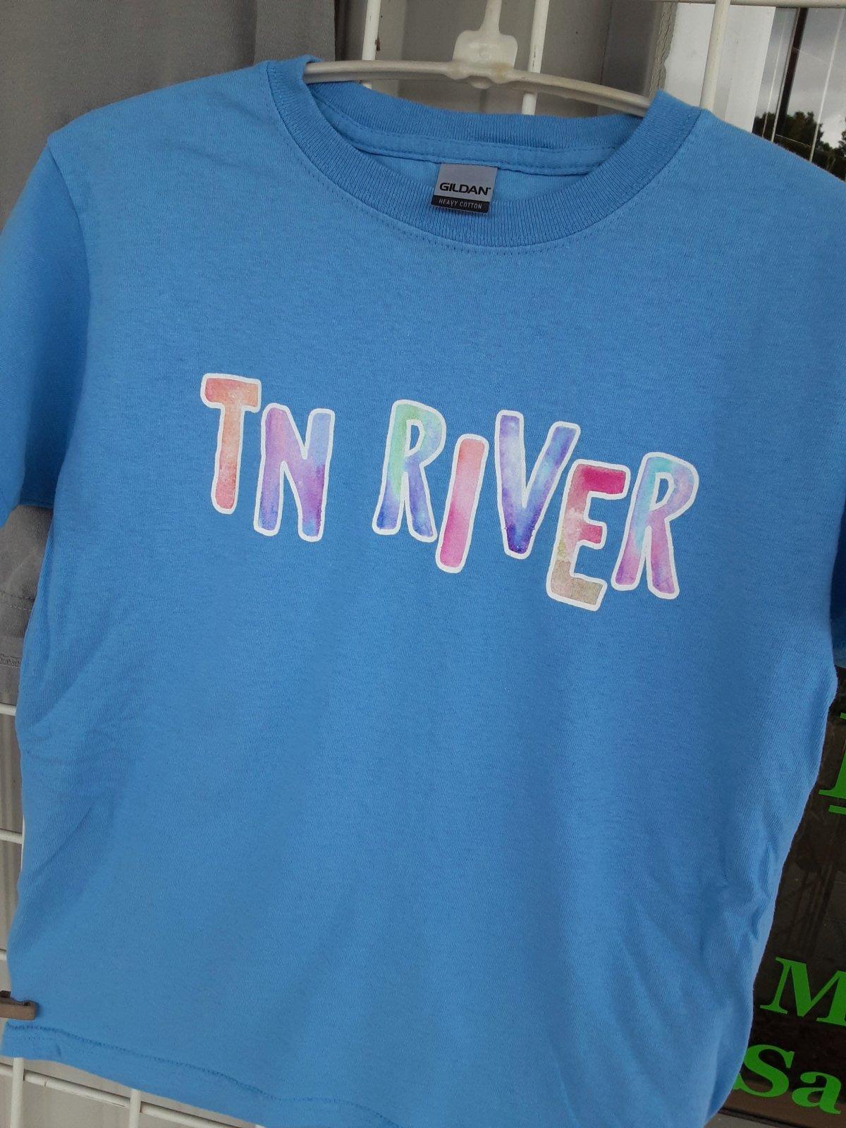 TN River Youth T shirt Blue