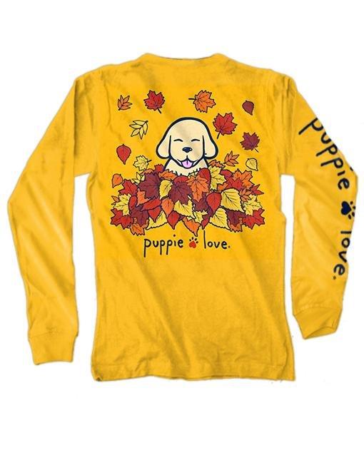 Pup Love L. Sleeve Fall T-shirt