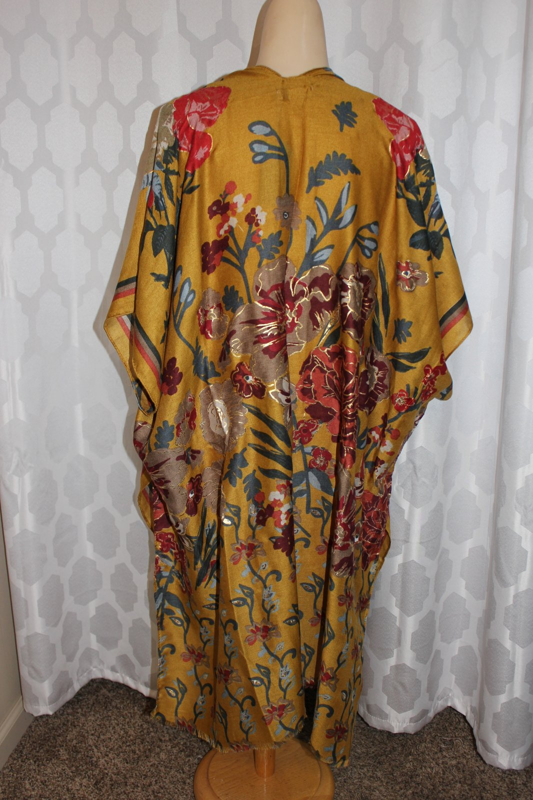 Floral duster one size