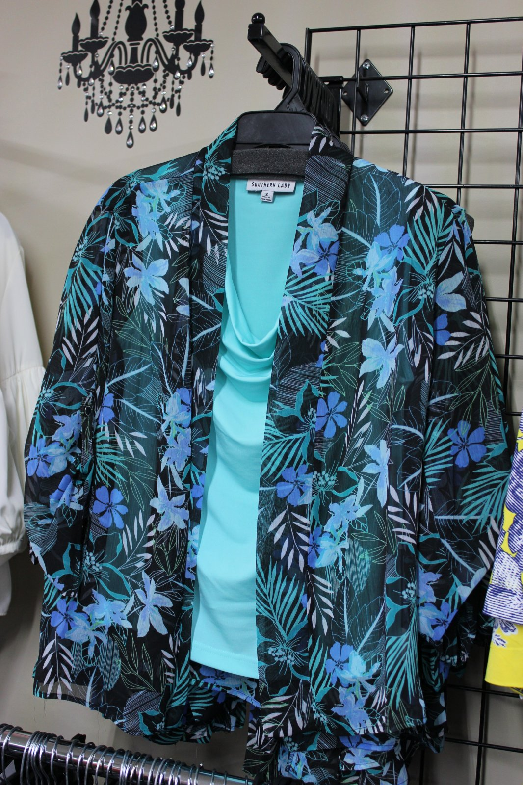 Southern Lady sheer cardigan