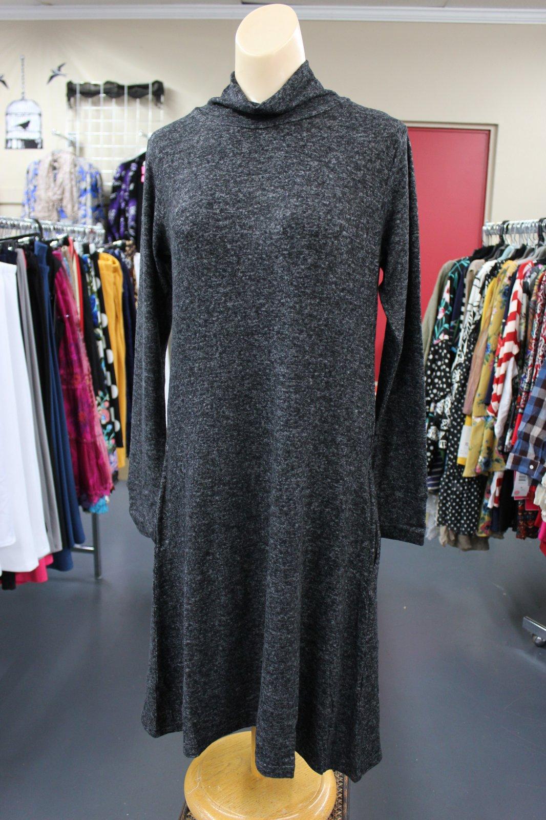 Yak & Yeti Sweater Dress gray