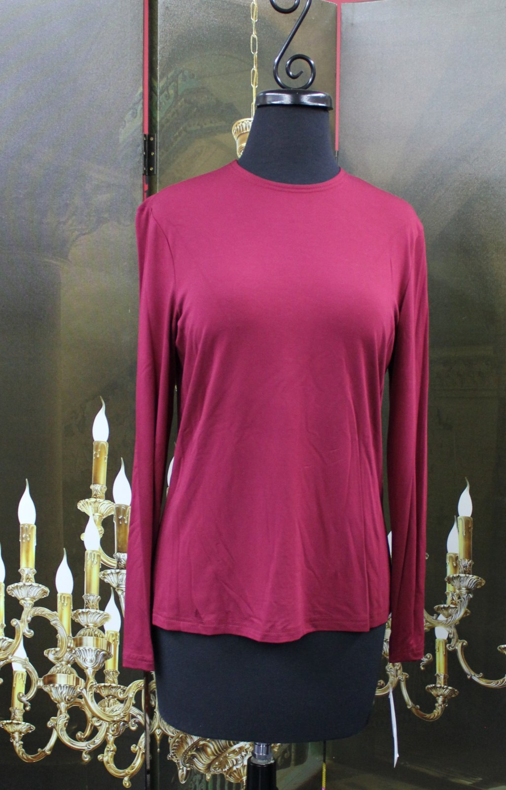 Wine Layering Top L/S