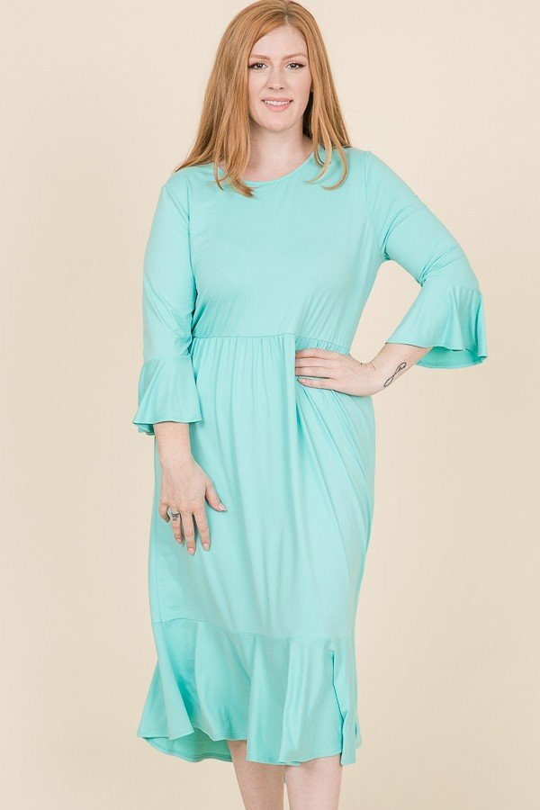 Reborn J Plus Mint dress