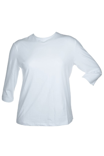 Plus Size Junee Me Layering Top, White
