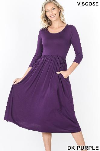 Purple Dress w/ pockets