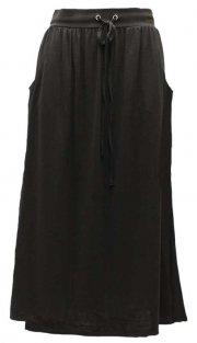 Links Solid Skirt, Black