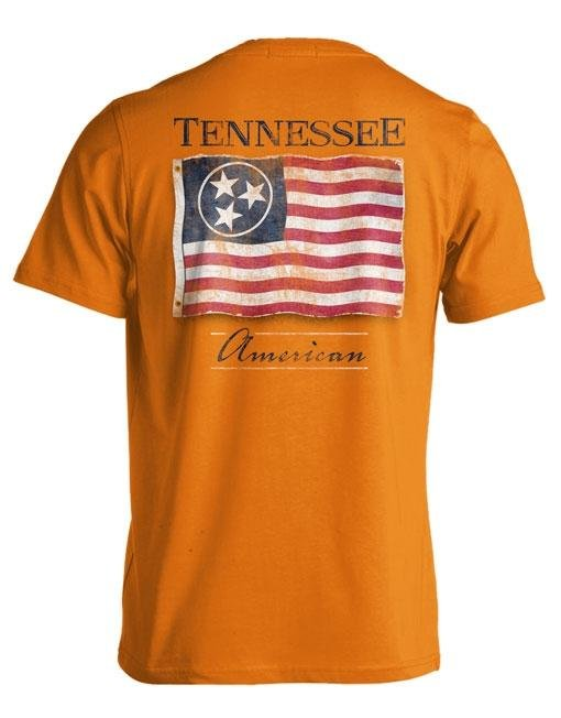 Comfort Colors TN Flag T-shirt