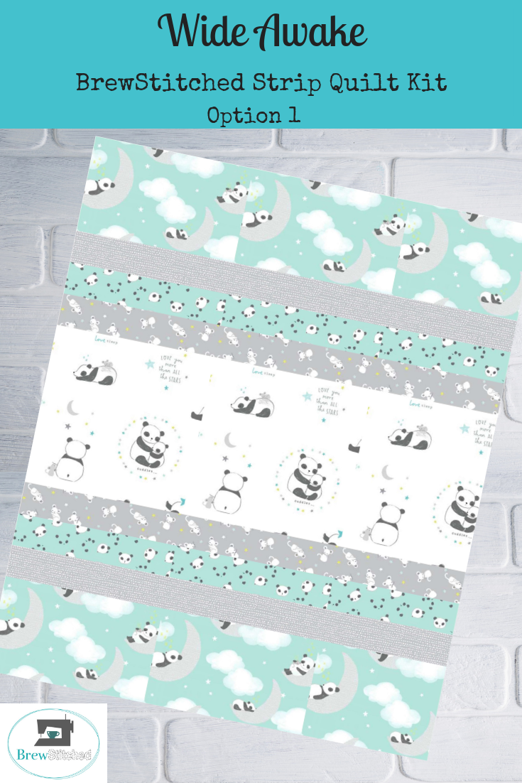 Wide Awake Baby Quilt Kit Option 1