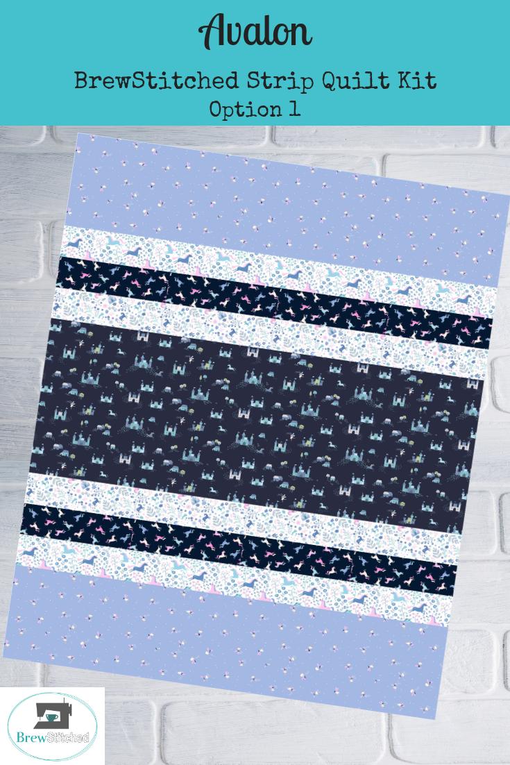 Avalon Baby Quilt Kit Option 1