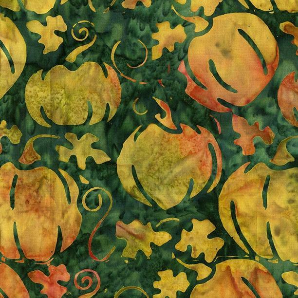 Pumpkin-Pineneedle  Batik