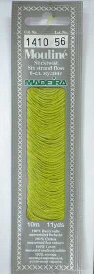 Mouline Embroidery Floss 1410 - Asparagus