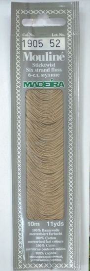 Mouline Embroidery Floss 1905 - Brown