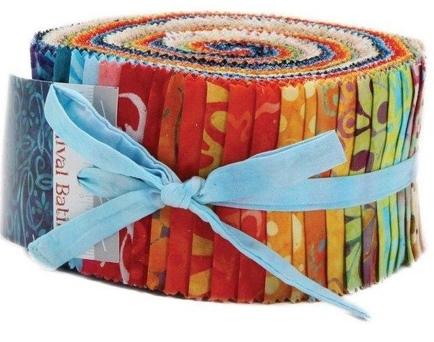 Carnival Batiks Jelly Roll