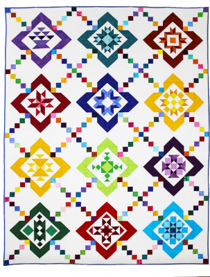 color box quilt