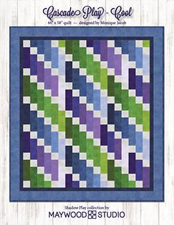 Cascade Play - Cool Quilt Kit