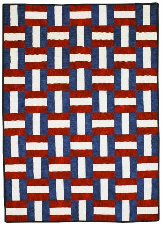 Freedom Ribbons Cut loose quilt pattern