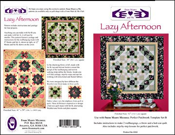 Lazy Afternoon Quilt Pattern