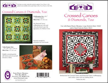 Crossed Canoes & Diamonds Too Quilt Pattern