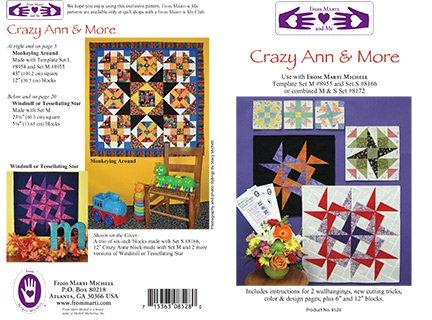 Crazy Ann & More Quilt Pattern