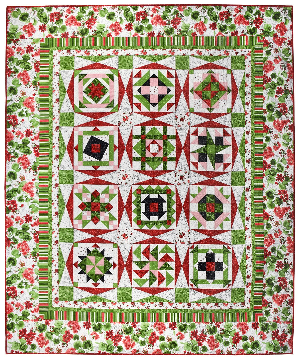 Secret Garden Block of the Month