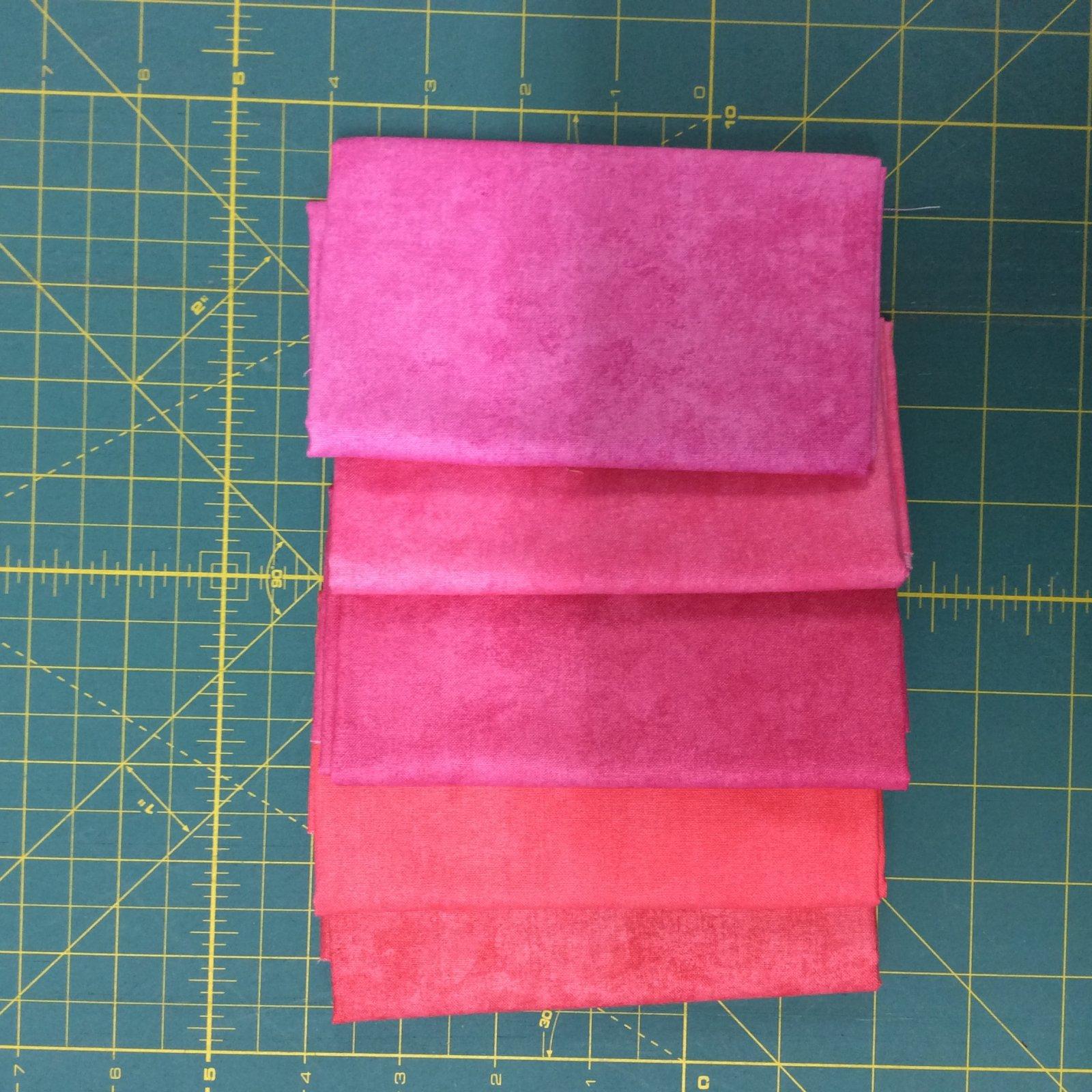 Shadow Play Fat Quarter Bundles Pink
