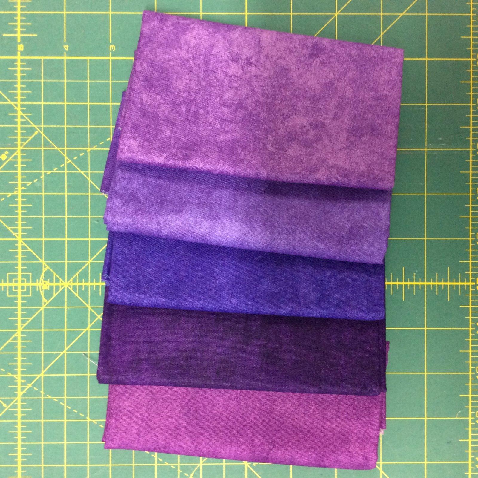 Shadow Play Fat Quarter Bundles Purples