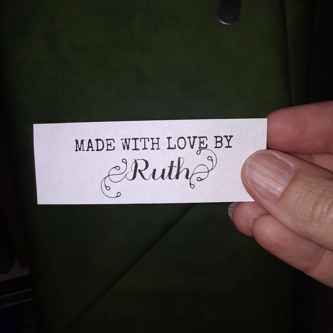 Custom Label With Love 2-7/8 x 1 30-count