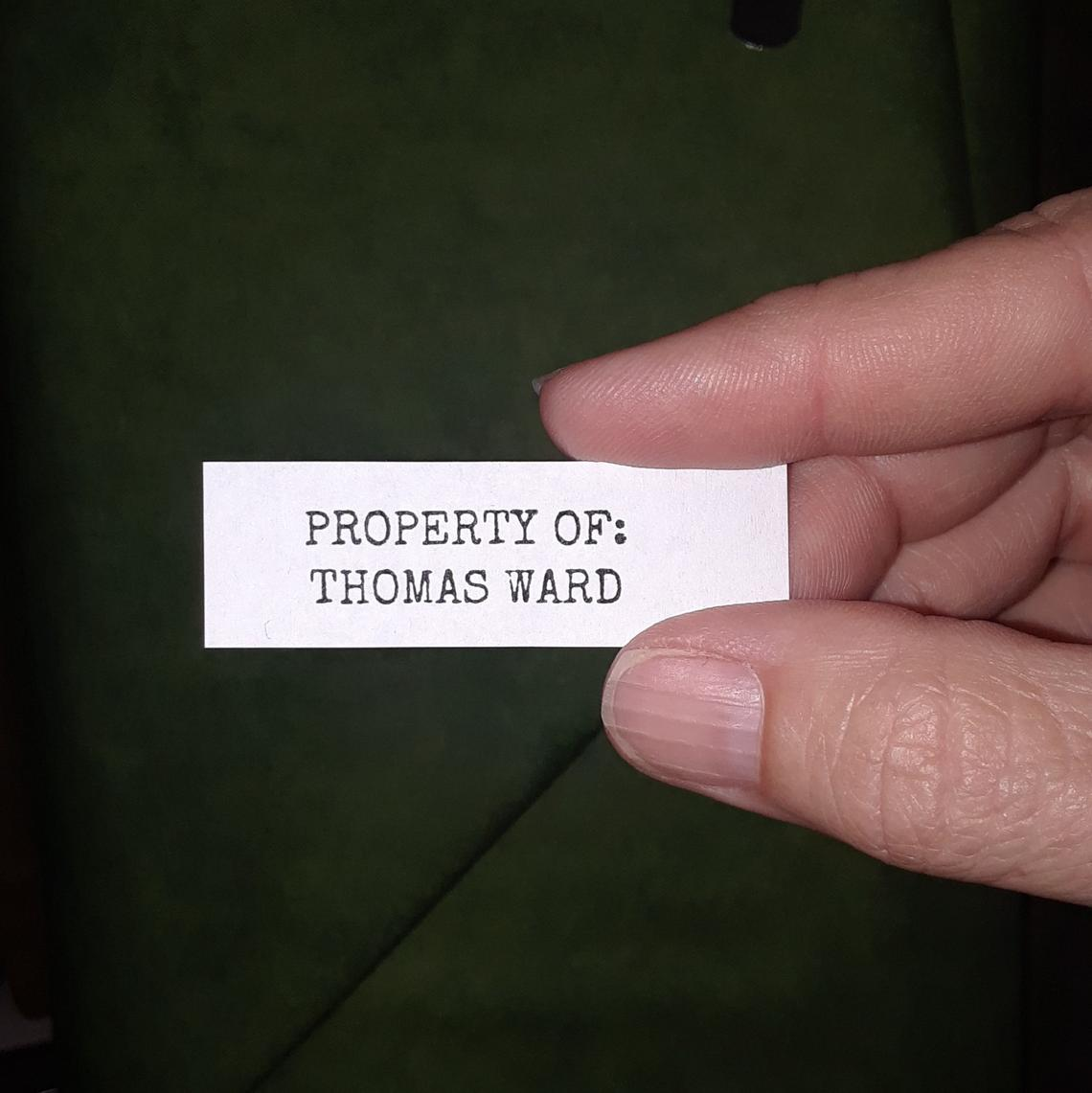 Custom Label Basic 2 x 5/8 60-count