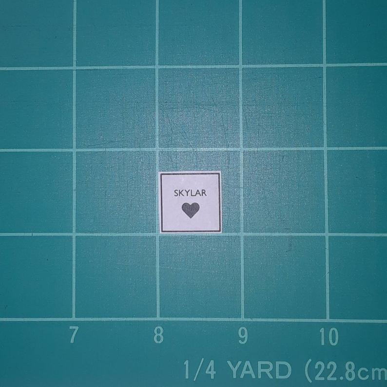 Custom Label Square 3/4 80-count