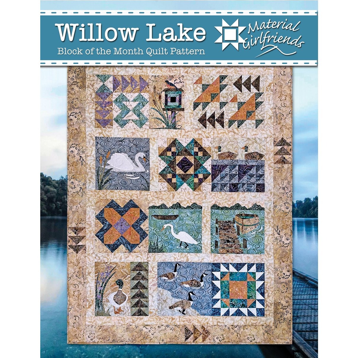 Willow Lake by Material Girlfriends
