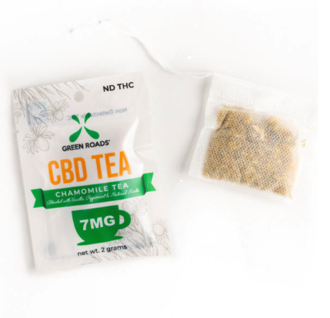 Green Roads Chamomile CBD Tea 7MG