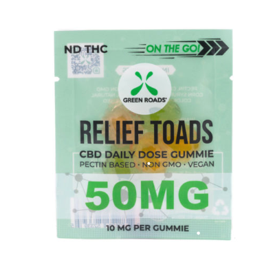 Green Roads Relief Toads 50MG